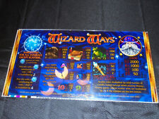 slot machine top plexiglass Wizard Ways