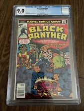 Black Panther #1 1st Self Titled Series CGC 9.0
