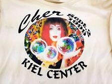Cher Sept 2 1999 Kiel Center St Louis Concert Shirt Long Sleeve Size L Shoulder