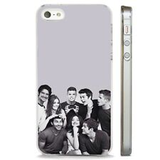 Teen Wolf Characters Cast CLEAR PHONE CASE COVER fits iPHONE 5 6 7 8 X