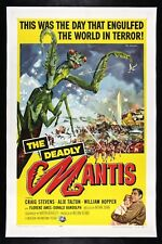Deadly Mantis CineMasterpieces Original Monster Insect Movie Poster 1957 Praying