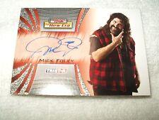 TNA Wrestling Autograph Card Mick Foley A3 2010