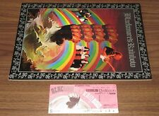 With NM extra show ticket stub! RAINBOW Japan TOUR BOOK 1976 Richie Blackmore