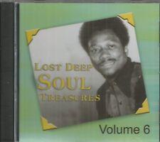 LOST DEEP SOUL TREASURES - CD - Volume 6 - LIKE NEW
