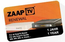 ZaapTV 1 Jahr ARABIC Renewal Verlängerung Code 409N,509N,609N,X - Emailversand