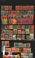Uruguay a collection lot of postmarks varied TPO Barred Numeral slogan etc