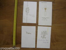 Annees 70 Lot de MENU CARTE mariage communion religion vin gastronomie Francaise