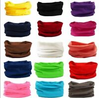 Multifunctional Tube Scarf Bandana Head Mask Neck Gaiter Snood Beanie Headwear