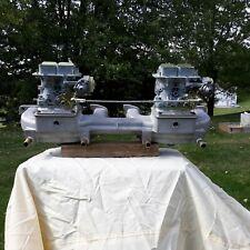 New ListingClifford intake dual weber carb Ford 240 300 ci inline 6 straight six carburetor