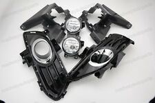 Driving Fog Light Lamps+Bracket+Cover+Bulbs for Ford Fusion Mondeo 2013-2016