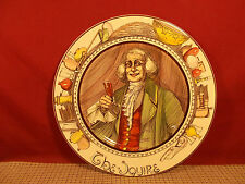 """Royal Doulton The Professionals Series Plate 10 1/2"""" The Squire D6284"""