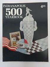 1976 Indy 500 Yearbook Hungness Johnny Rutherford Hy-Gain McLaren McLaren/Offy
