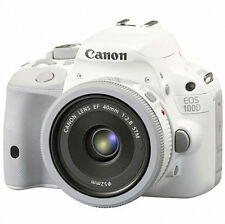 Canon 100D 18 MP DSLR 40mm STM lens KIT (Kiss x7 Rebel SL1 ) White