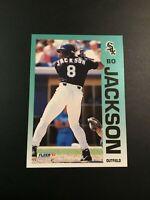 1992 Fleer # 86 BO JACKSON Chicago White Sox Sweet LOOK !