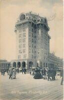 ATLANTIC CITY NJ – Hotel Traymore Rotograph Postcard - 1908