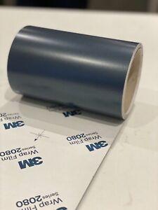 3M 2080 Vinyl Wrap for UPVC Window Frames/Architectural Dark Grey Frame Wrapping