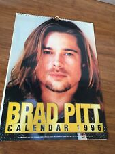 Brad Pitt Calander Collectable 1996