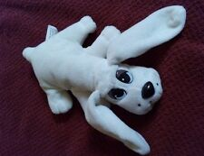 "Vintage Pound Puppy, Tonka, White, 1995, 7"" Very Cute!"