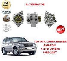 für Toyota Land Cruiser Amazon 4.2 TD 1998-2007 80A Lichtmaschine Einheit