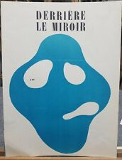 """Jean Arp Original Lithograph Derriere le Miroir 1950's 15""""×11"""""""