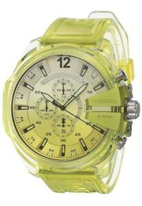 Diesel Mega Chief Chronograph Sport Strap Men's Watch DZ4532 $220