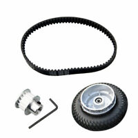Electric Skateboard Parts Gear Motor Truck Wheels Belt Kit 200*50mm Longboard