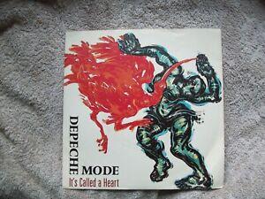 Depeche Mode - It`s called a heart - Vinyl Single - 1985