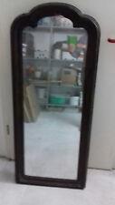 großer Spiegel mit Holzrahmen, antik alt
