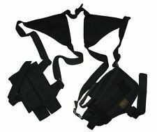 Black Double Shoulder Holster w/Clip Pouch BB Airsoft Pistol Gun Handgun 208BA