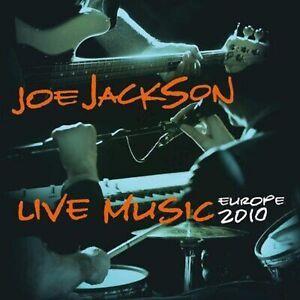 Joe Jackson - Live Music Europe 2 - New Orange Vinyl 2LP - National Album Day