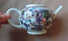 Antique 18th century Chinese Export Porcelain Famille Rose Tea Pot 1765 Teapot