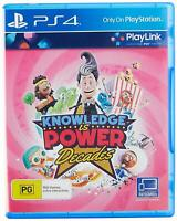 Knowledge is Power: Decades PS4 Playlink Playstation 4