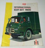 International Harvester IH Heavy Duty Trucks 6 Cylinder Co Line Sales Brochure