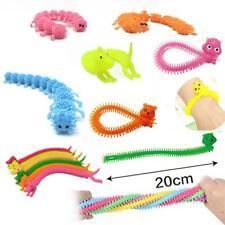 1 Stretchy Caterpillar Sensory Toy Silent Desk Classroom autism fidget T1Z1