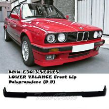 For 85-91 BMW 3-Series E30 IS LOWER Front Lip Kit VALANCE PP OE Bumper