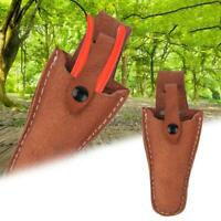 Pruners Garden Sheath, Premium Genuine Leather Holster Protective Case Cover