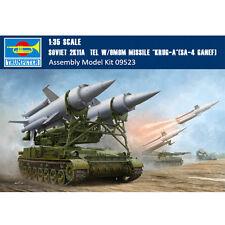 Trumpeter 09523 1/35 Soviet 2K11A TEL w/9M8M Missile Krug-a SA-4 Ganef Model Kit