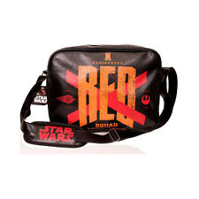 STAR WARS VII THE FORCE AWAKENS OFFICIAL RED SQUAD X-WING MESSENGER BAG