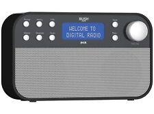 Bush Stereo DAB/FM Radio - Black BD1706