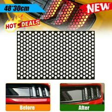 Car Rear Tail Light  Honeycomb Sticker Taillight Lamp Cover Exterior Accessories