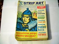 STRIP ART - YUGOSLAV COMIC MAGAZINE, 1-45 + 2 SPECIAL, PRINCE VALIANT, TARZAN...