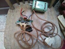 Fridor Stitchmaster sewing machine 714930642 :- MOTOR & electrics