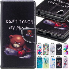 For Sony Xperia L1 Wallet Card  Flip Stand PU Leather Skin Protective Case Cover