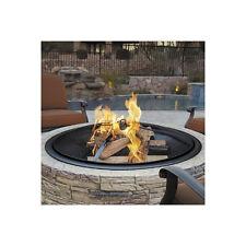 Outdoor Wood Burning Fire Pit Backyard Fireplace Patio Deck Heater Bowl Stone