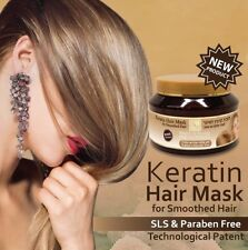 Keratin Hair Mask For Smoothed Hair Split Ends H&B Dead Sea 500ml / 16.9 fl. oz