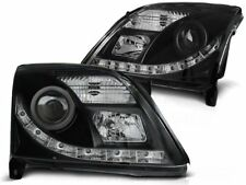 LED HEADLIGHTS LPOP76 OPEL VECTRA C SALOON / ESTATE 2002 2003 2004 2005 BLACK
