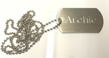 Metal Dog Tag + FREE Engraving + FREE Delivery