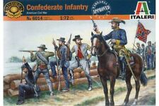 ITALERI 6014 1/72 Infanterie Confédérée - Confederate Infantry