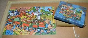 Vintage LOONEY TUNES 1962 jigsaw puzzle COMPLETE