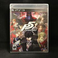 Persona 5 (PS3) (PlayStation 3) BRAND NEW / Region Free